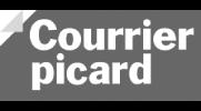 Client Qualisondages logo Courrier Picard